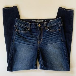 American Eagle Outfitters Hi Rise Jeggings Size 10